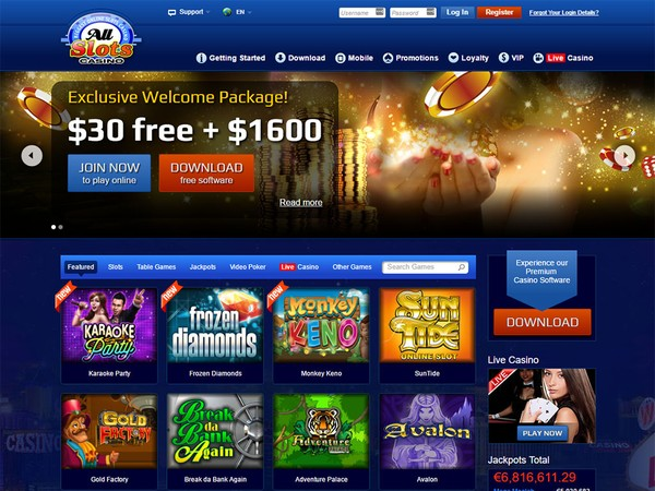 All Slots Mobile Casino Au