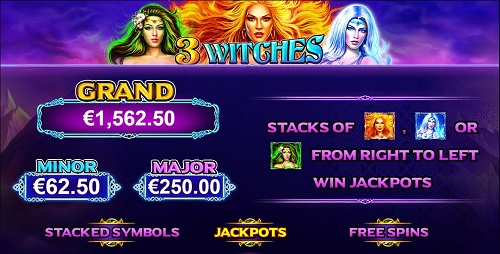 Online Pokies Three Witches Game
